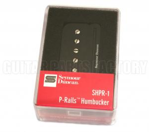 11303-01-B Seymour Duncan Black P-Rails Neck Humbucker SHPR-1n