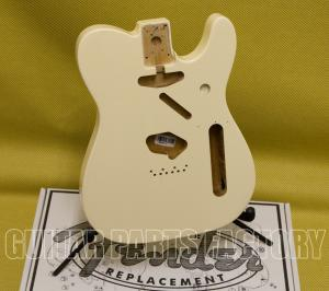099-8006-705 Fender Olympic White Tele Body Vintage Bridge