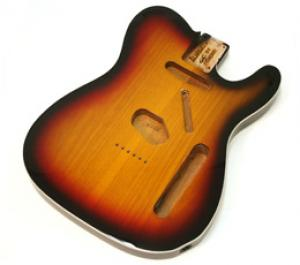 TBF-3SBB Sunburst Finished Replacement Body for Telecaster® With Binding