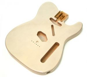 TBF-WH See Through White Finished Replacement Body for Telecaster Guitar
