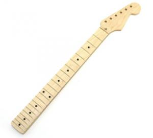 SMO-FAT Allparts Unfinished Chunky Maple Strat Guitar Neck