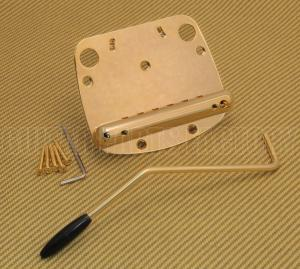 SB-0224-002 Gold Tremolo Tailpiece for Mustang® Guitar & Arm