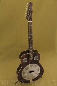 095-5006-092 Fender Brown Derby Resonator Guitar w/ Continental Cone