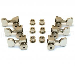 SZ-3X3-NK Sperzel Trim-Lock 3+3 Nickel Tuners