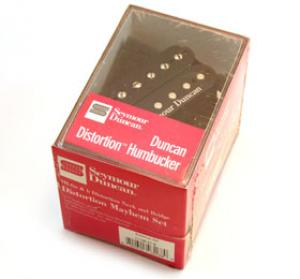 11108-21-B Seymour Duncan Distortion Mayhem Humbucker Set Black SH-6s