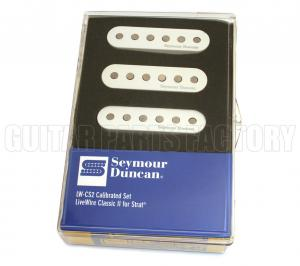 11206-09-W Seymour Duncan Livewire Classic II Pickups for Strat White LW-CS2s-White