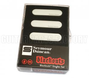 11206-12-W Seymour Duncan Blackouts Single for Strat-White AS-1s-White