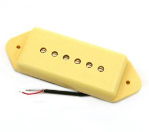 PU-P9D-C P90 Cream Dog Ear Dogear Style Guitar Pickup