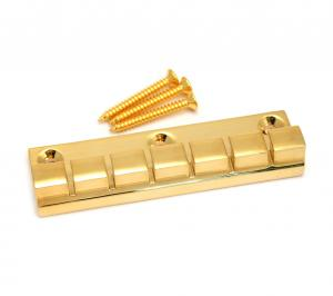 ATP-6-G Gold 6-String Anchor Style Tailpiece for Flat Top Guitar