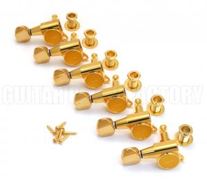 TK-0760-L02 Gotoh Lefty Gold Sealed Guitar Tuners