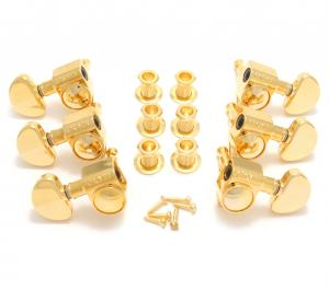 102-18G Grover Gold 3x3 Rotomatic Guitar Tuners 18:1 RATIO