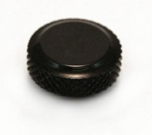 (1) SCHALLER BLACK LOCK KNOB FOR LOCKING TUNERS