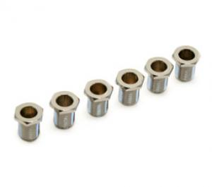 005-8820-049 6 Fender/Schaller Guitar Chrome Tuner Key American Series Bushings 0058820049