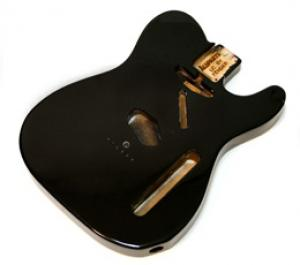 TBF-BK Black Finished Replacement Body for Telecaster Guitar