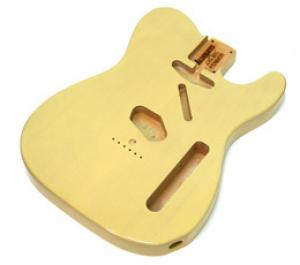 TBF-BLND Blonde Finished Replacement Body for Telecaster
