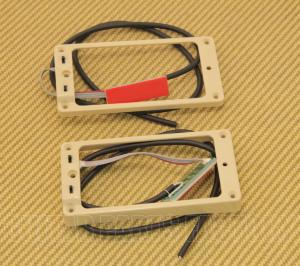 11806-05-Cr TS-2s-Cream Seymour Duncan Cream Triple Shot Curved Pickup Ring Set