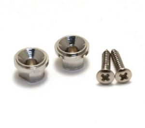 GST-TC Chrome Tall Round String Guides for Guitar