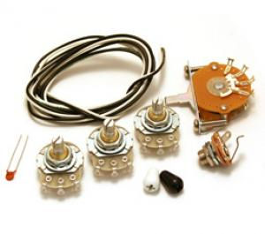 WKS-ECO Economy 5-Way Wiring Kit for Strat