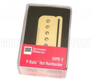 11303-04-Cr Seymour Duncan SHPR-2b Hot P-Rails Bridge Humbucker Cream