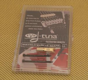 555-0121-469 Gold EVH D-Tuna Drop D Tuning System Drop D Tuning System DT-100-G 5550121469