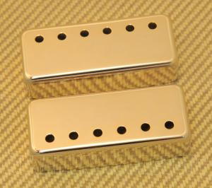 PC-0308-002 50mm Gold Pickup Covers Gibson Mini Humbucker