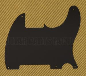 PG-0567-034 1-ply Matte Black Pickguard for Fender Esquire Telecaster Guitar
