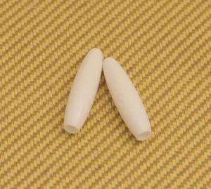 PK-DR006-01 White Tremolo Tips Press Fit Strat