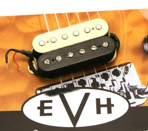 022-2137-002 Genuine EVH Wolfgang Bridge Humbucker White/BlK 0222137002