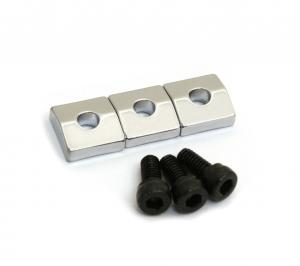 BP-0116-010 Chrome Schaller Floyd Rose Locking Nut Blocks