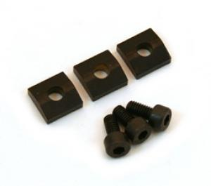 BP-0116-003 Black Floyd Rose Locking Nut Clamp/Screws Black Blocks