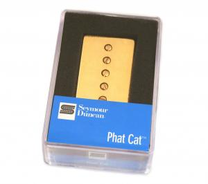 11302-16-GC Seymour Duncan Phat Cat Bridge Guitar Pickup Gold SPH90-1b