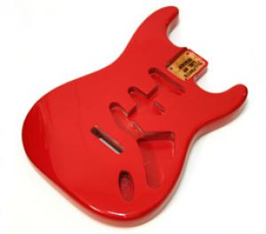 SBF-RD Red Finished Body for Strat
