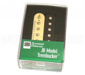 11103-13-Z Seymour Duncan Zebra Cream & Black Trembucker Guitar Pickup TB-4 JB