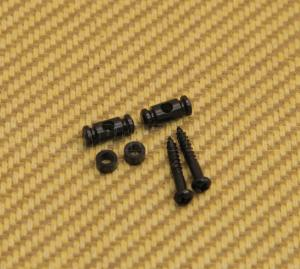 AP-0727-003 Gotoh Black Barrel String Guides for Tele/Strat