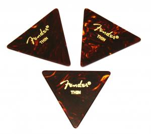 098-0355-100 Fender Thin Tortoise Celluloid 355 Picks