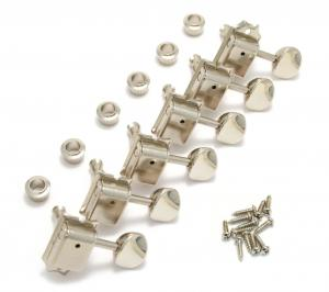 099-2040-000 Genuine Fender Nickel Vintage Series Guitar Tuners Strat/Tele 0992040000