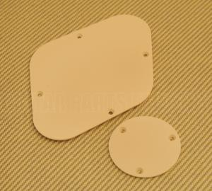 LPIBP-C Cream Back Plate Set for Import Les Paul