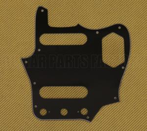 PG-0580-00J Black 3-ply Pickguard for Fender Japan MIJ Reissue Jaguar®