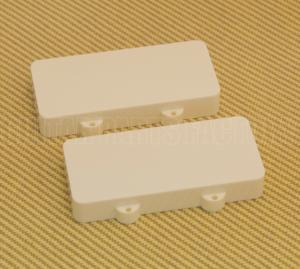 PCJZADWNH Aged White No Hole Jazzmaster Pickup Cover Set