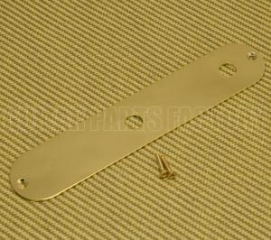 770-8090-000 Squier by Fender John 5 Gold Custom Tele Control Plate No Switch Slot