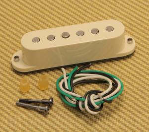 007-3001-030 Fender Mod Shop SCN Aged White Stratocaster Neck Pickup 0073001030