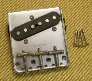 009-4553-000 Fender Left-Handed AVRI PAT NO. '64 Telecaster Bridge & Pickup Assembly