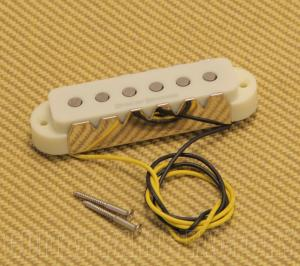 009-7219-000 Squier by Fender Duncan Designed JG-101N Neck Pickup Aged White