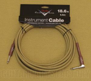 099-0820-031 Fender Custom Shop Cables Straight-Right Angle 18.6ft