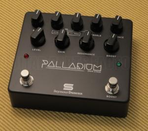 11900-009B Seymour Duncan Palladium Gain Stage Pedal Black
