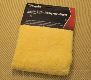 099-0524-000 Fender Dual-Sided Super-Soft Microfiber Guitar/Bass Polishing Cloth 0990524000