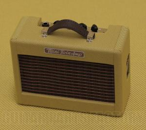 023-4811-000 Mini '57 Guitar Twin-Amp Tweed 9V Battery Headphone Out 0234811000