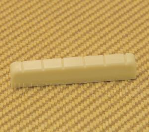 PNUT-10205 Pre-slotted Cream Plastic Nut for Classical Guitar