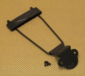 T120B Diamond Black Trapeze Tailpiece for Gibson L-50, L48, ES-125, ES-330