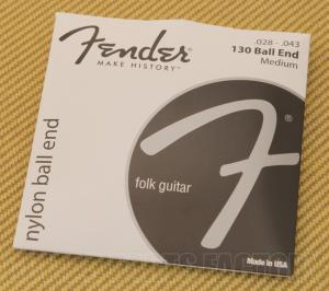 073-0130-400 Fender Ball End Classical Strings 0730130400